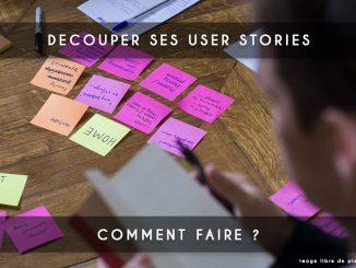 decouper ses user stories