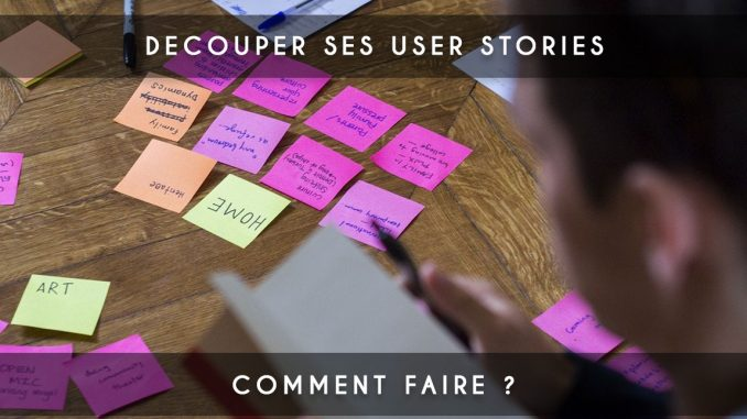 découpage de user-story - user-stories - user story agile - user story scrum