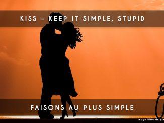 KISS, keep it simple, stupid
