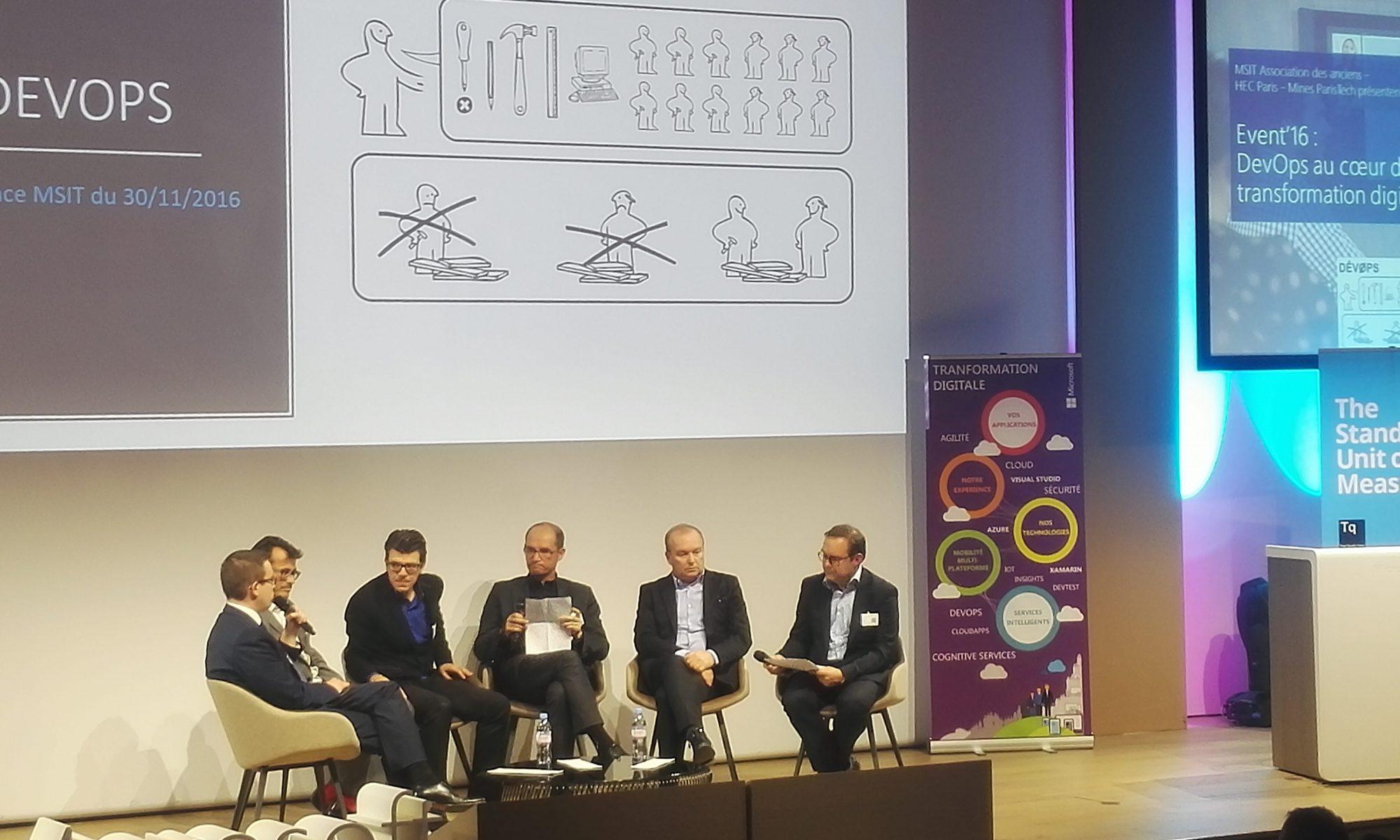 Conférence MSIT 2016 [DEVOPS]