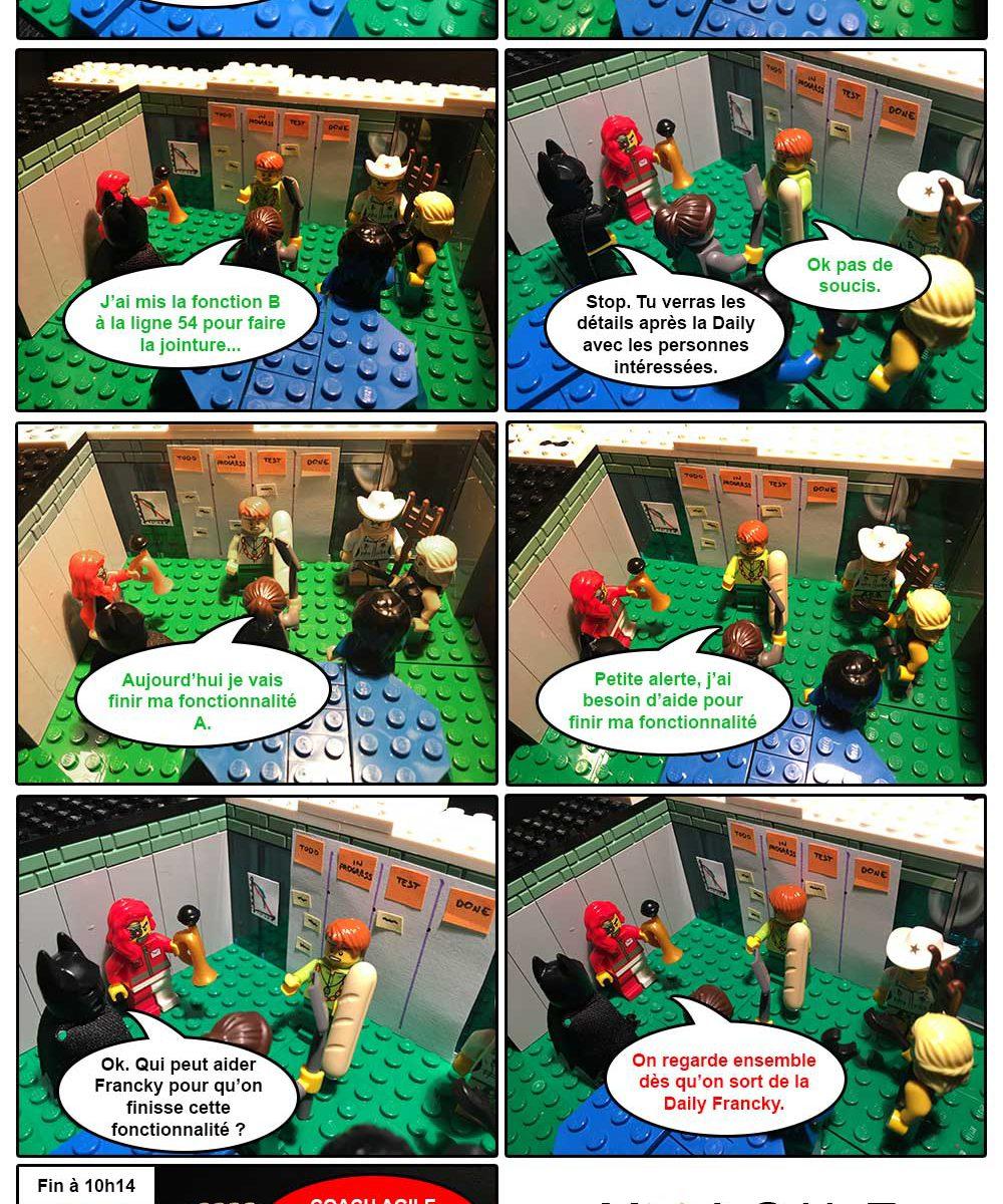 Legoscrum - S01E01 - la Daily