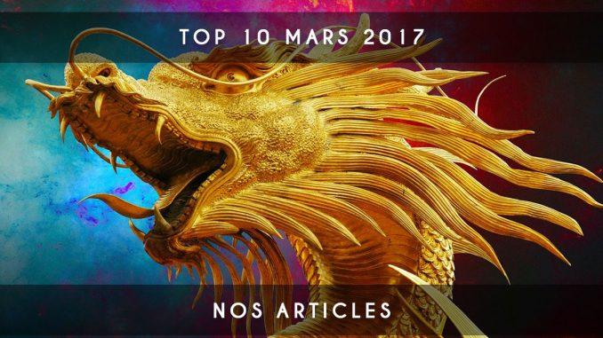 top 10 mars 2017
