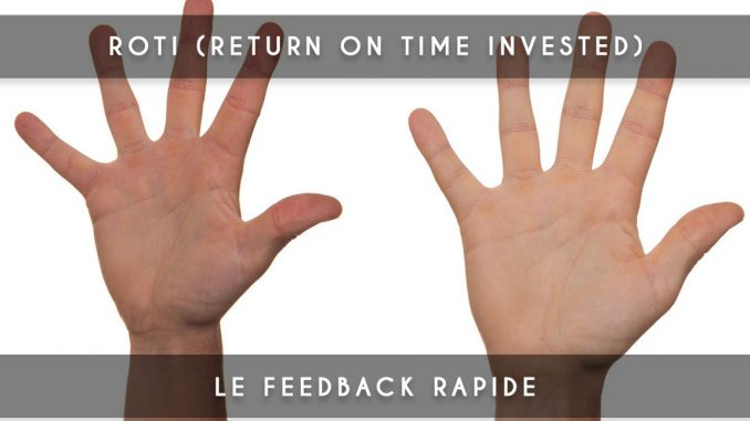 roti - return on time invested