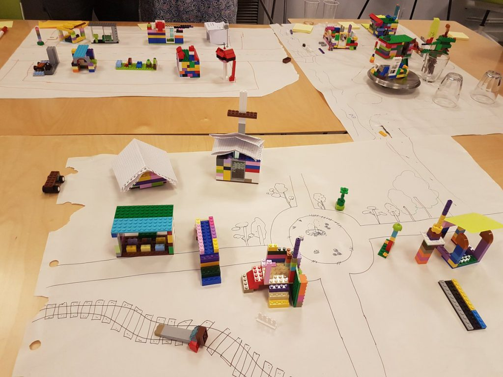 ville en Lego agile