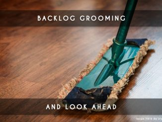 backlog grooming and look head