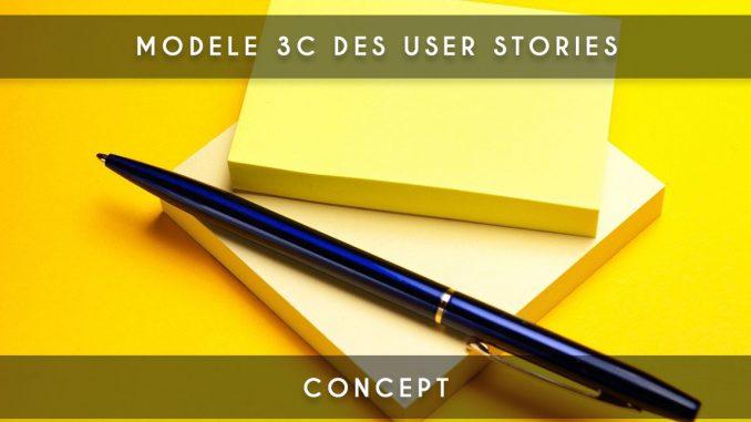 modele 3c user stories
