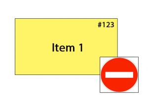 ticket interdit