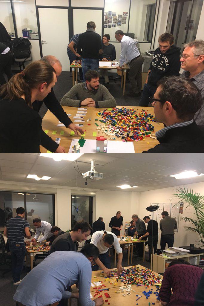 Déroulé du Meetup Lego4Scrum et lego4Kanban
