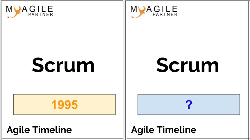 agile timeline