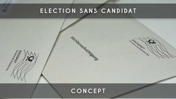 election sans candidat
