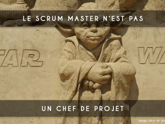 scrum master - chef de projet