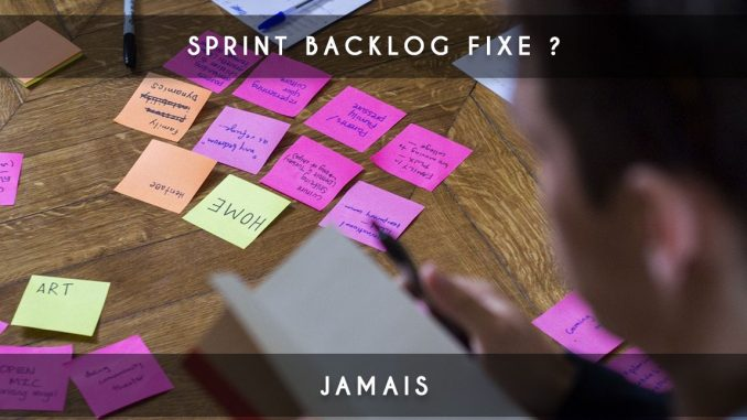 sprint backlog fixe