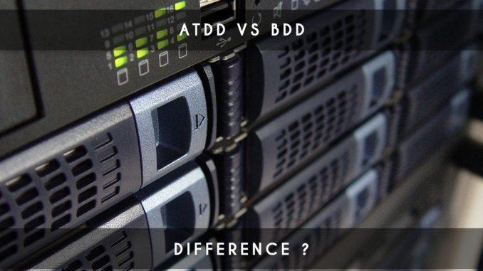 ATDD vs BDD