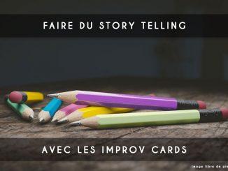 story telling avec improv cards