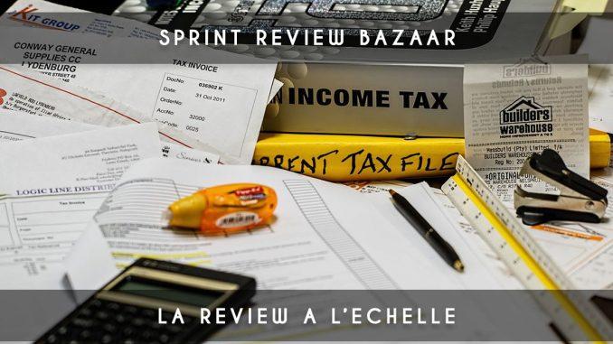 sprint review bazaar