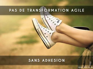 pas de transformation agile
