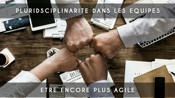 La pluridisciplinarité pour être encore plus agile !