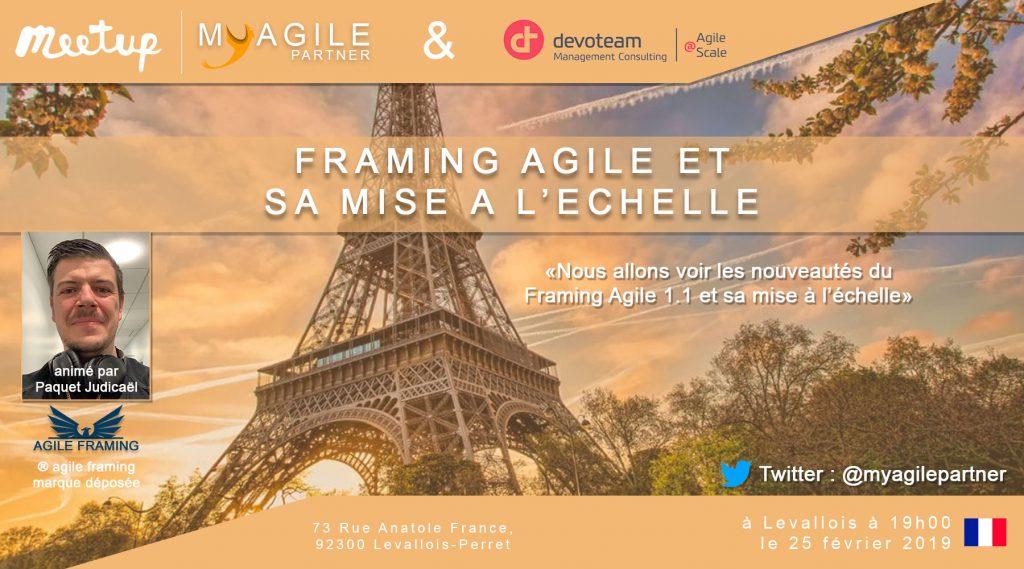 meetup framing agile et sa mise à l'échelle