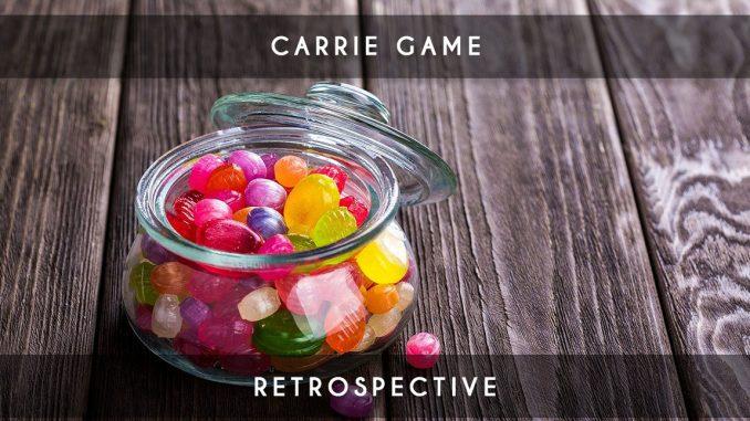 rétrospective carrie game