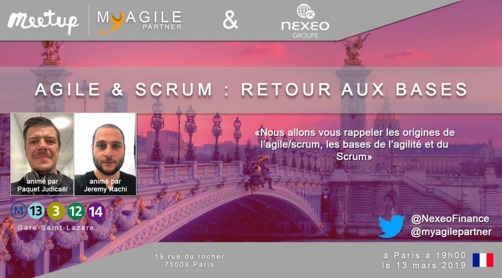 meetup nexeo - agile & scrum : retour aux bases