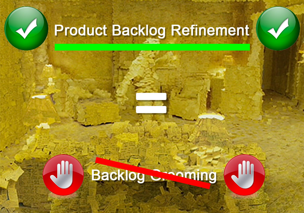 product backlog refinement et backlog grooming agile
