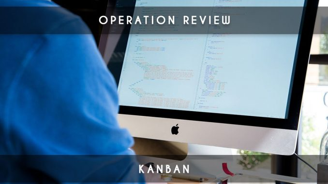 operation review kanban