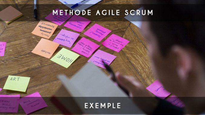 methode agile scrum exemple