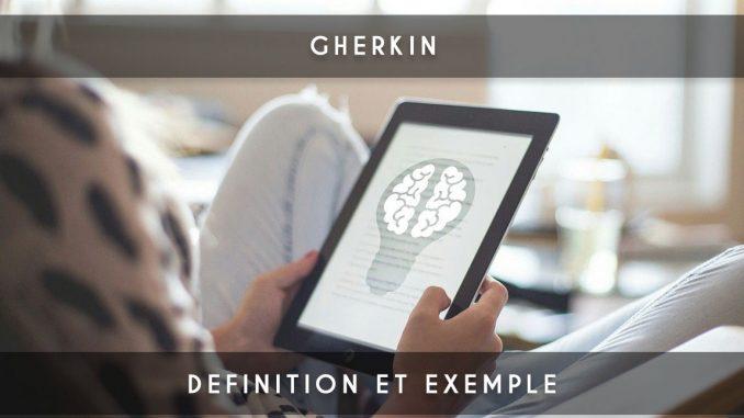 gherkin - given when then
