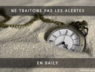 alertes en daily scrum
