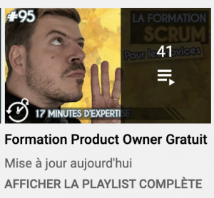 Formation Product Owner Gratuit