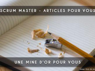 scrum master articles pour vous