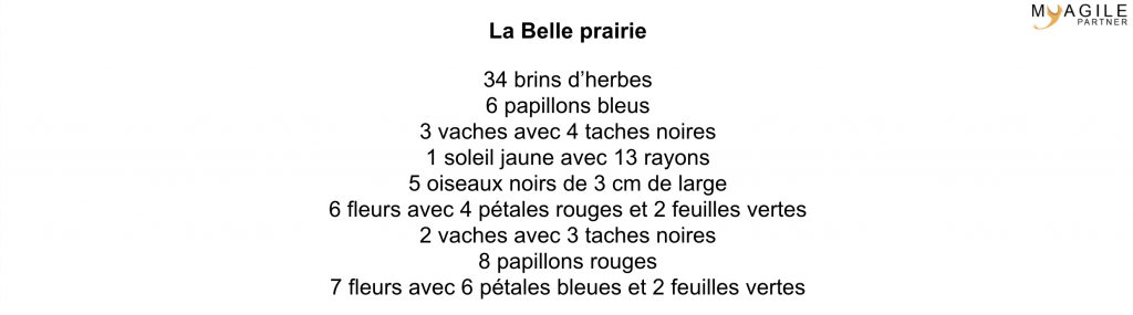 la belle prairie - partie specifications